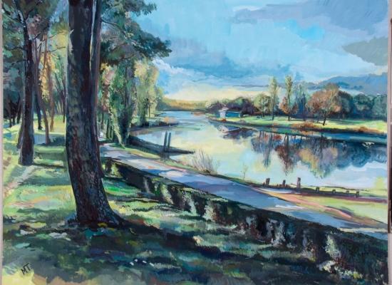 michel-tual-peinture-Canal-de-la-Basse-Loire