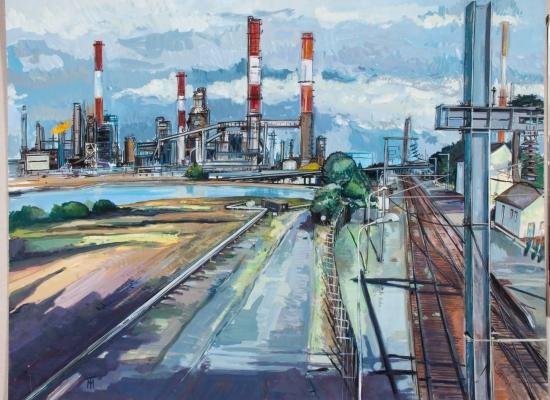 michel-tual-peinture-La-Raffinerie-1