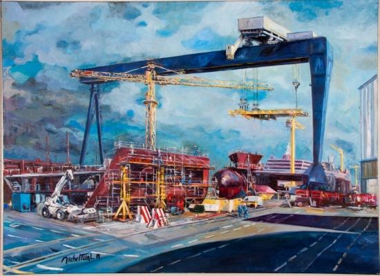 michel-tual-peinture-Le-Chantier-de-l-Atlantique-1