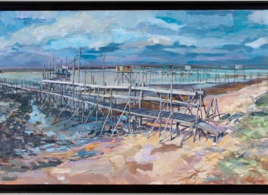 michel-tual-peinture-Lespecheries-de-la-pointe-de-l-Imperlay-1