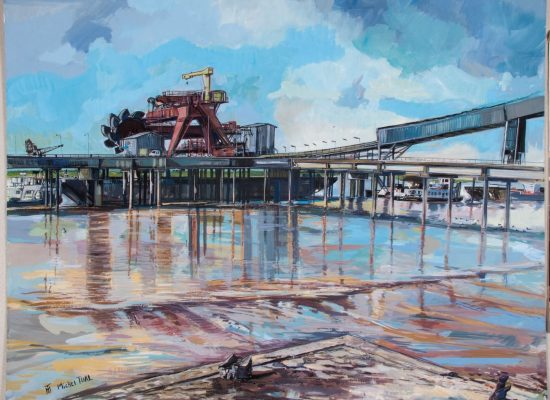 Peinture Barges et Godets - Michel Tual