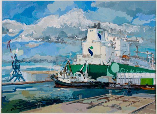 Peinture Energy Gaz de France - Michel Tual