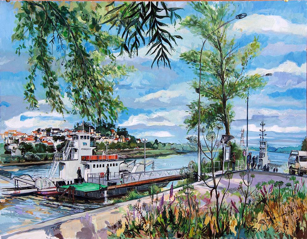 Peinture Basse Indre - Michel Tual
