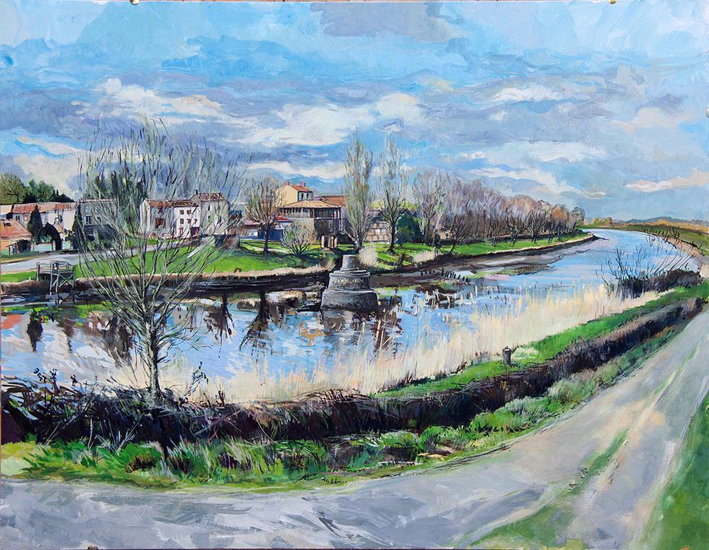 Peinture Le Migron - Michel Tual