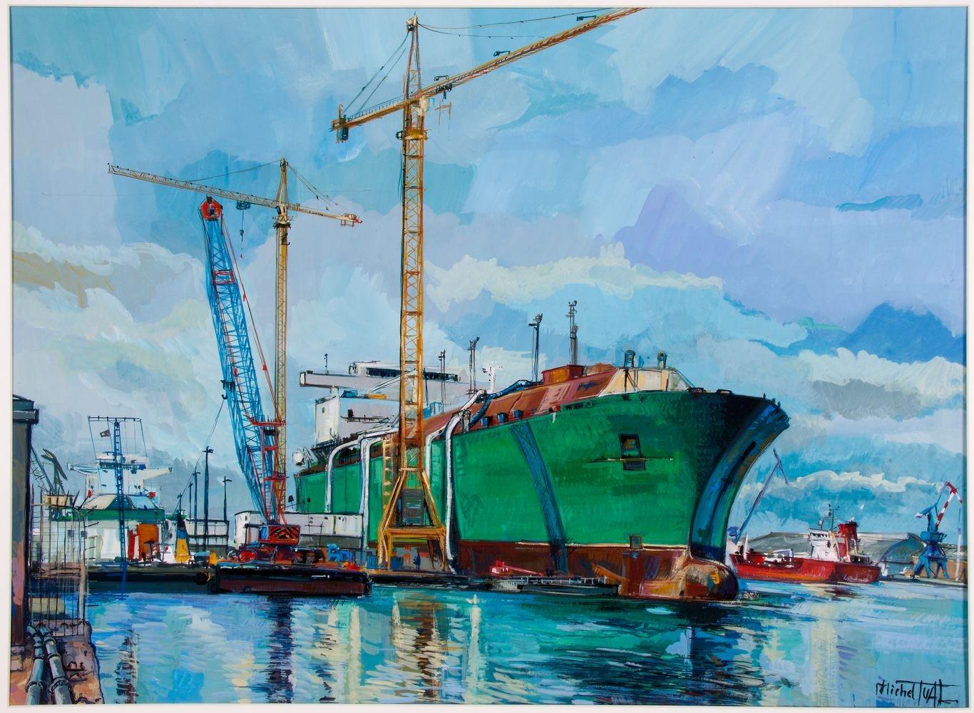 Peinture Provalys - Michel Tual