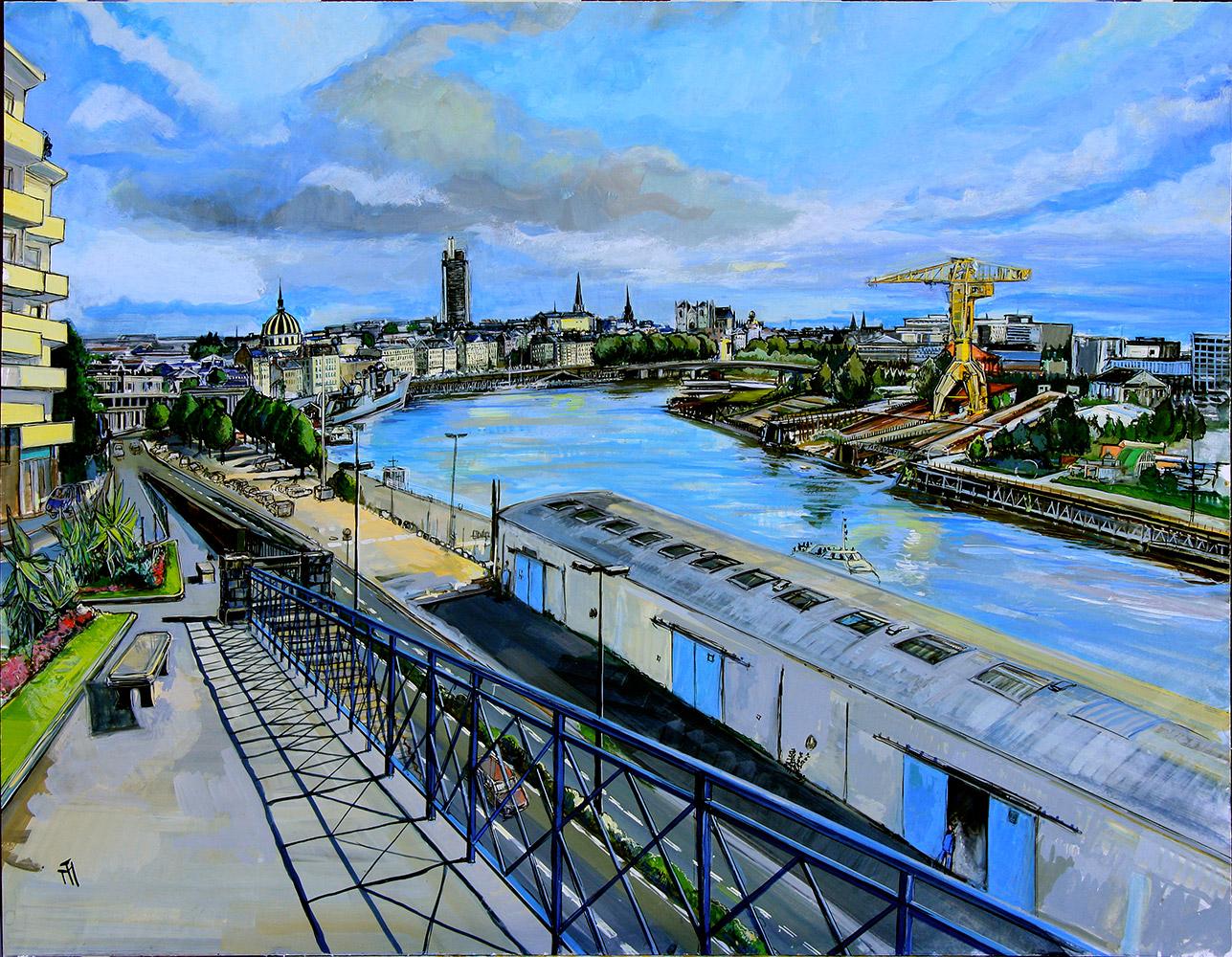La Ville en Pente Haut Chantenay - Michel Tual
