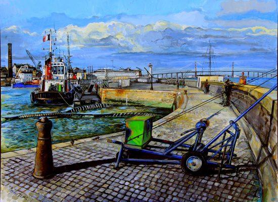 L'avant port de Saint-Nazaire
