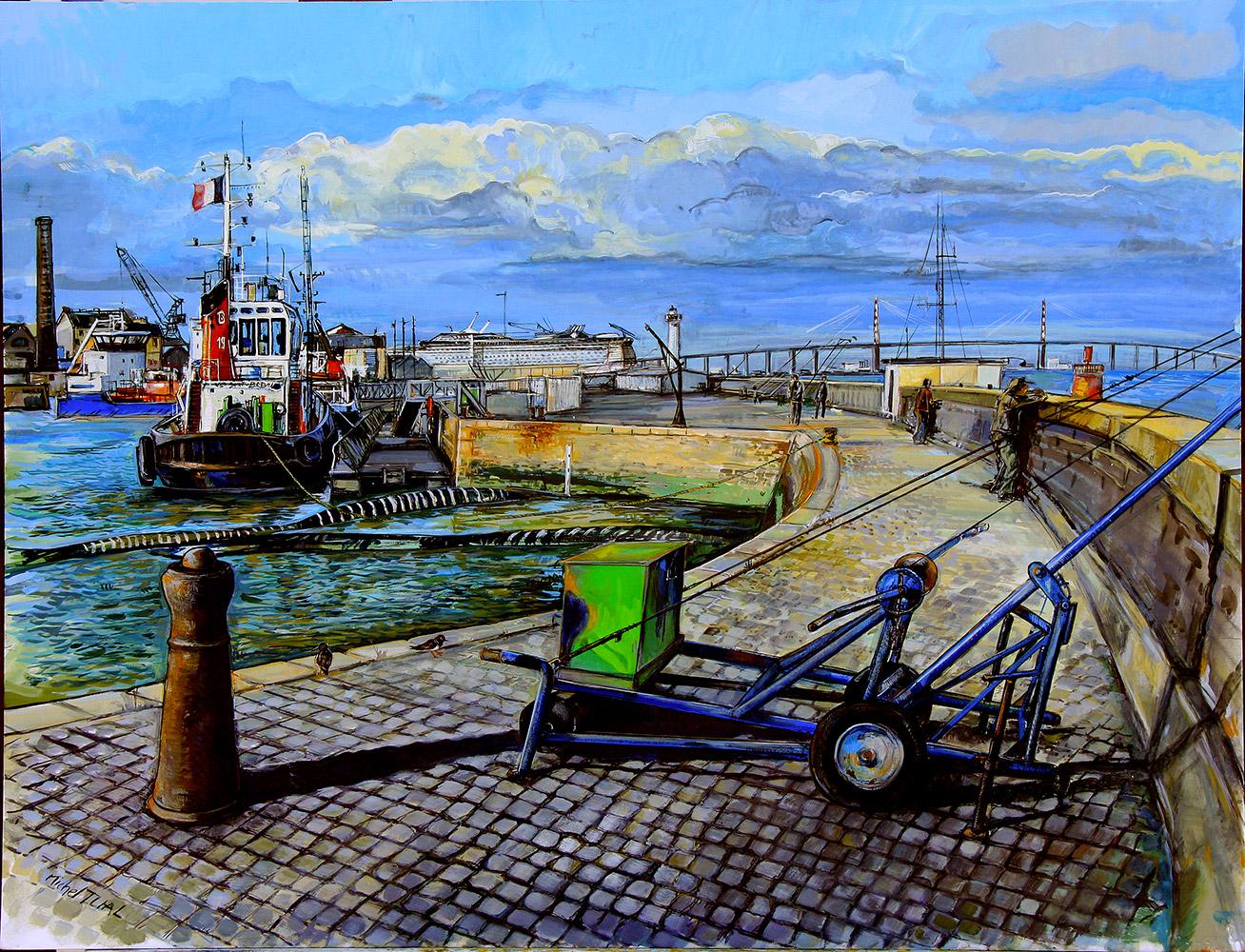 L'Avant Port de Saint Nazaire - Michel Tual